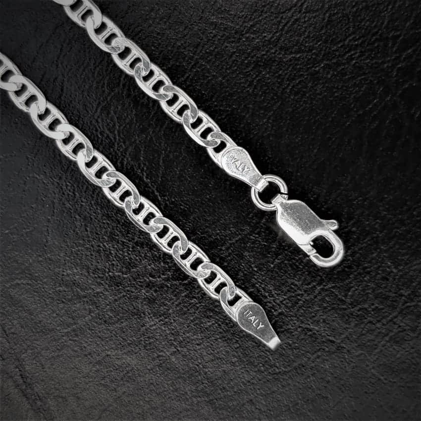 Cadena de plata modelo Gucci