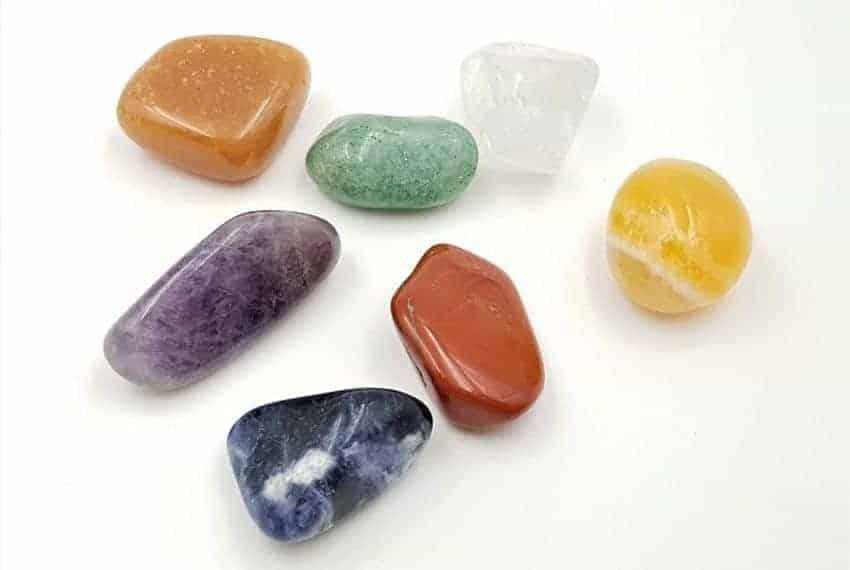 Las piedras de los chakras
