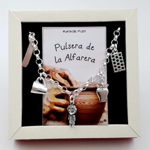 Pulsera de la Alfarera fabricada en plata