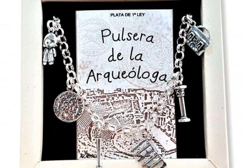 Pulsera de la Arqueóloga fabricada en plata