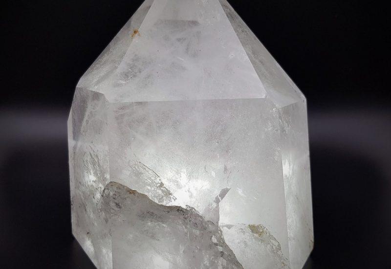 Punta de Cuarzo Cristal de Roca