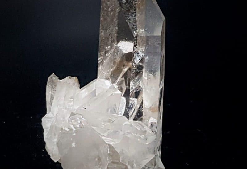 Conjunto de puntas de Cuarzo Cristal de Roca