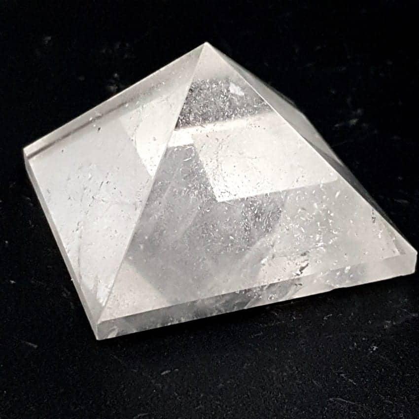 Pirámide de cuarzo