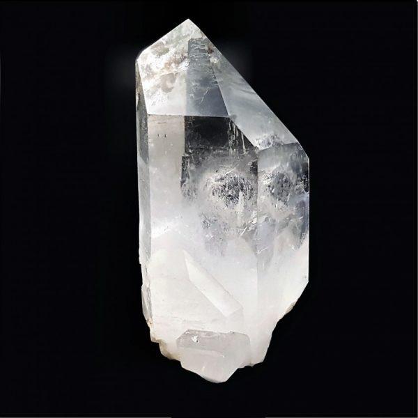 Punta de cuarzo cristalizado