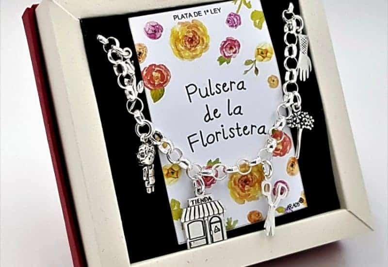 Pulsera de la Florista fabricada en plata
