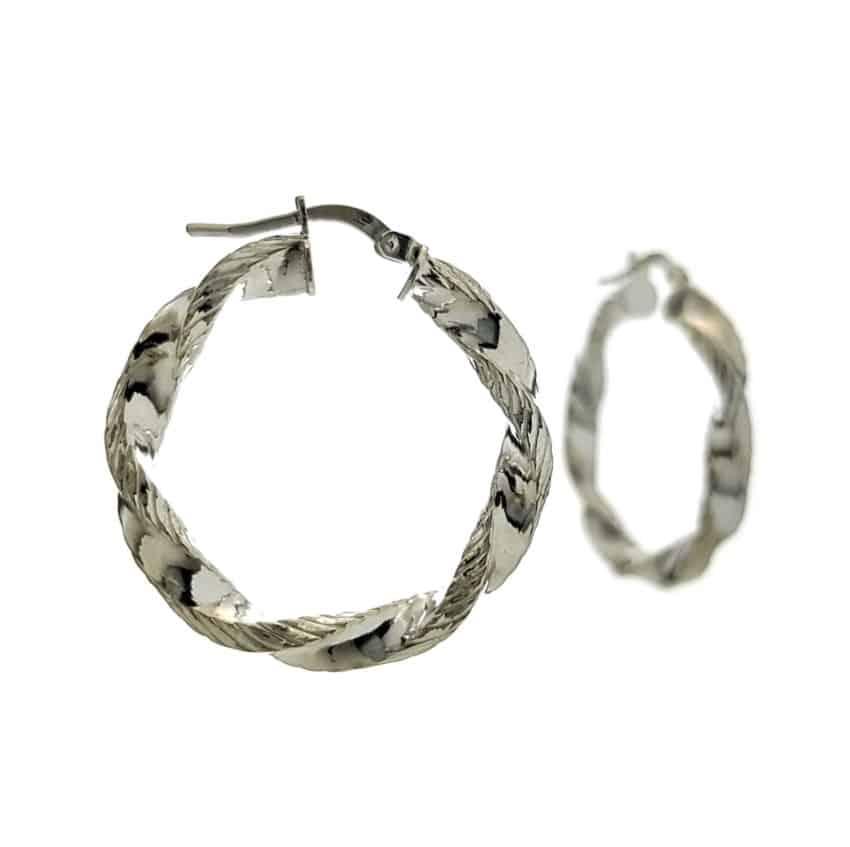 argollas trenzadas en plata (10)