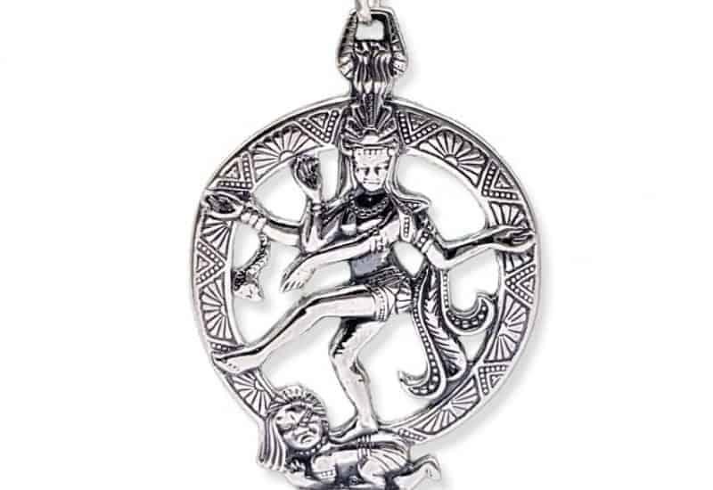 Colgante en Plata de Ley 925 mls – Shiva (Natarásh, Rey de la Danza)