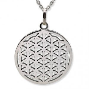 Amuleto Flor de la Vida, Símbolo de plata