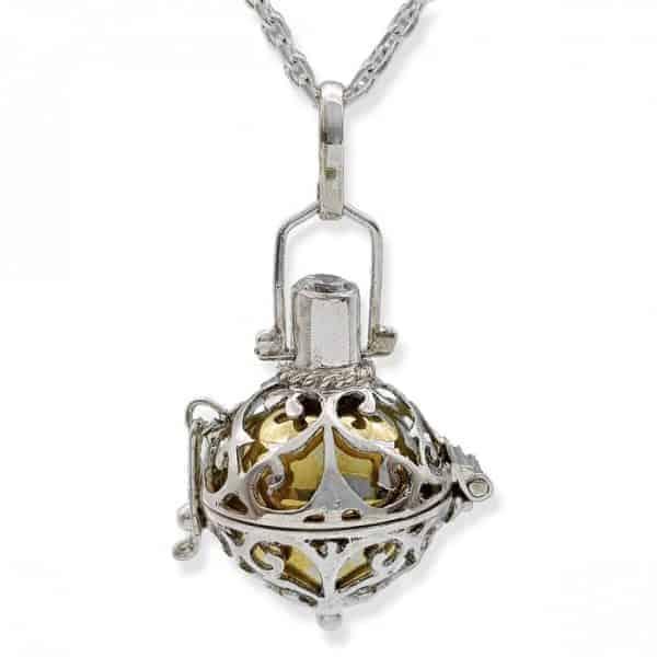 Llamador de Ángeles en plata
