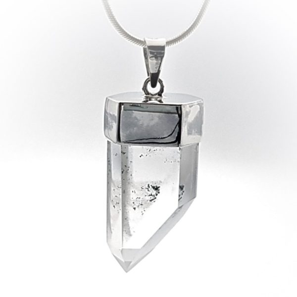 Punta de cuarzo en plata (6)