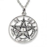 Amuleto Tetragramatón en plata