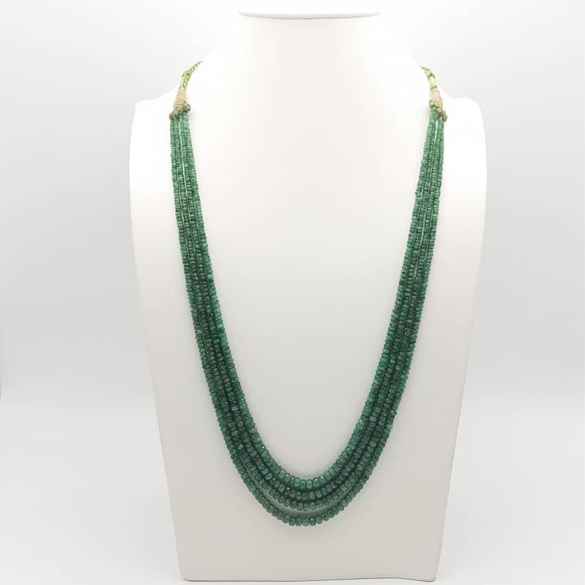 Collar de esmeraldas
