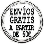 Envío gratis y urgente a partir de 60 € de compra para Península y Baleares