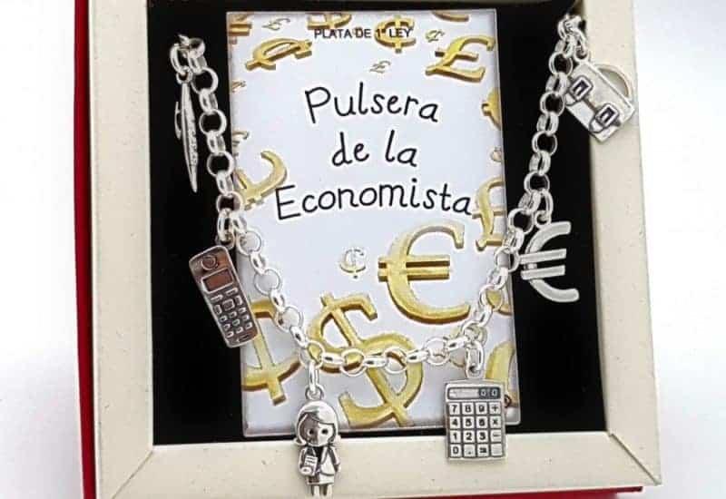 Pulsera de la economista fabricada en plata