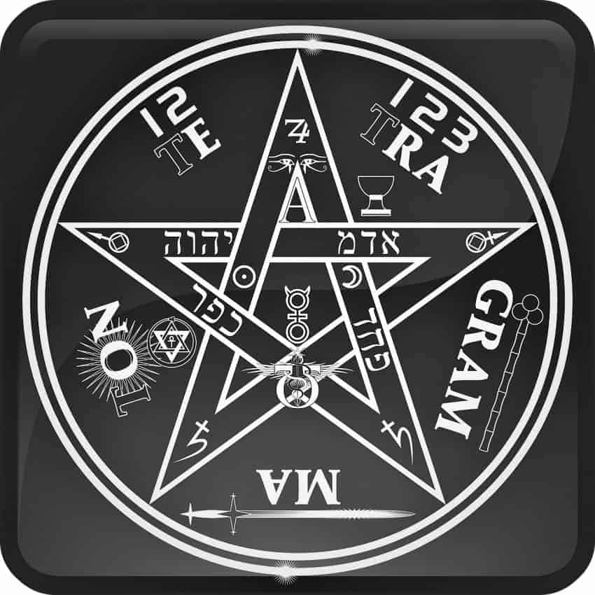 símbolo del tetragramatón