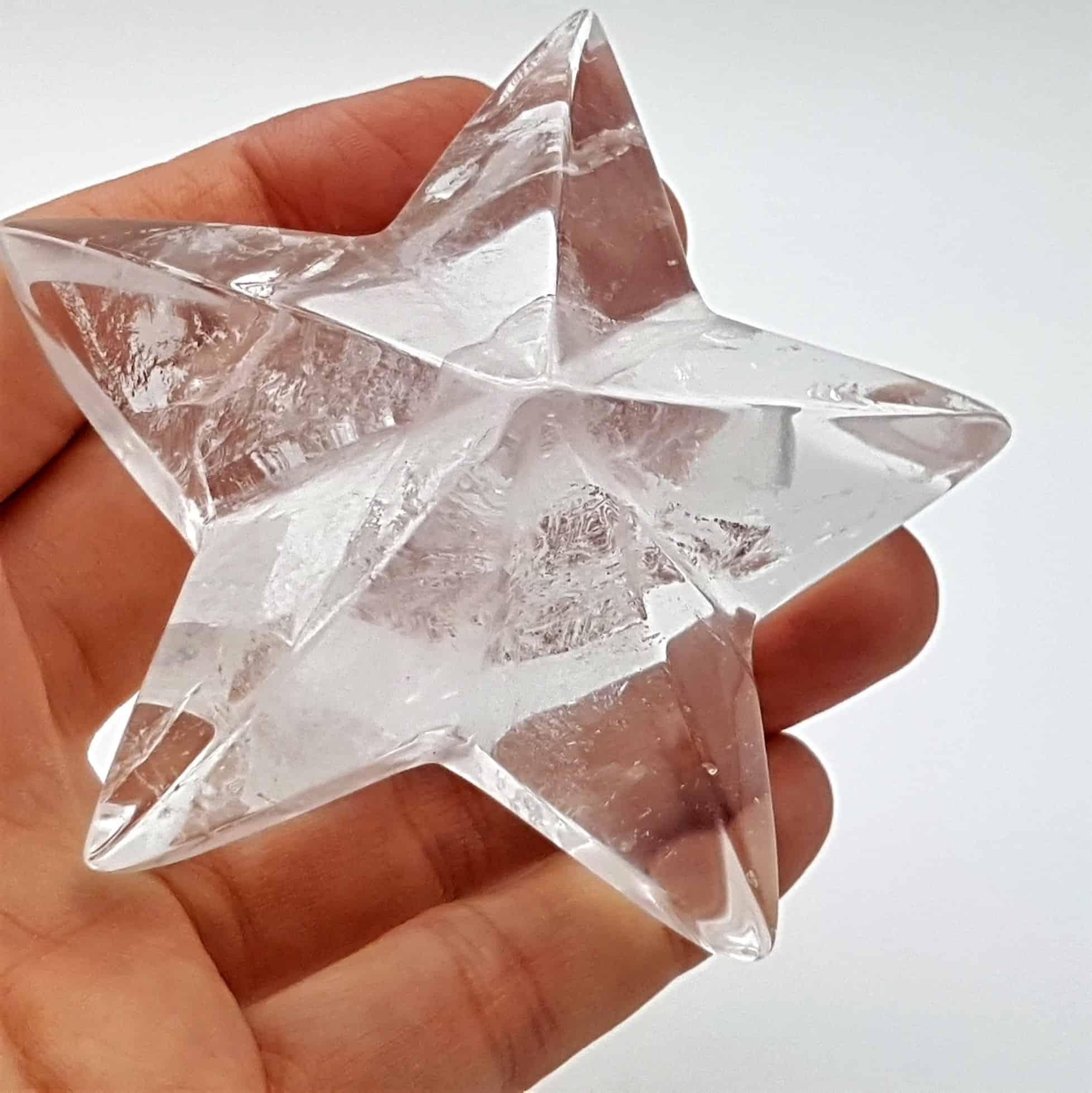 Estrella de cuarzo cristal de roca (5)