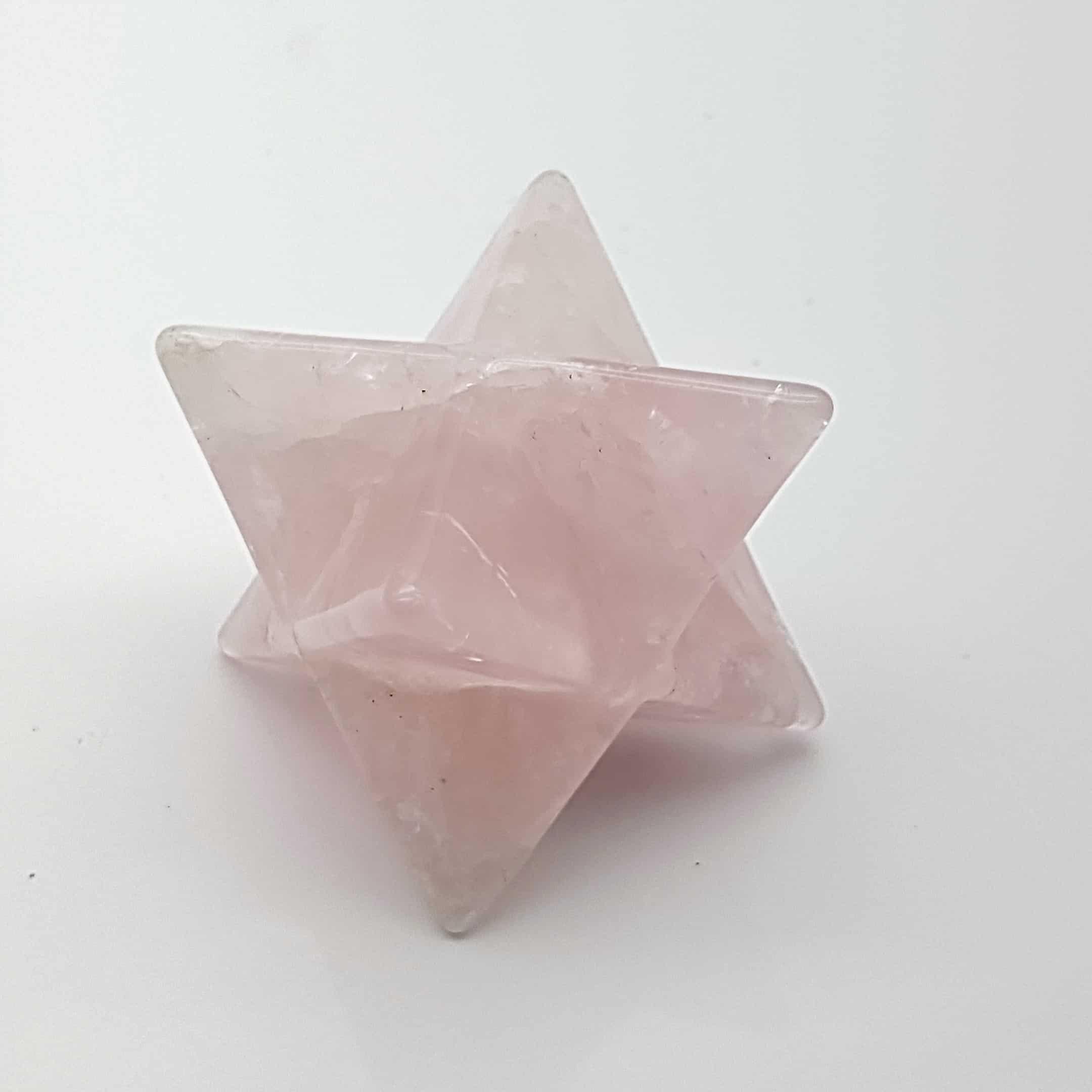 Estrella merkaba en cuarzo rosa (4)