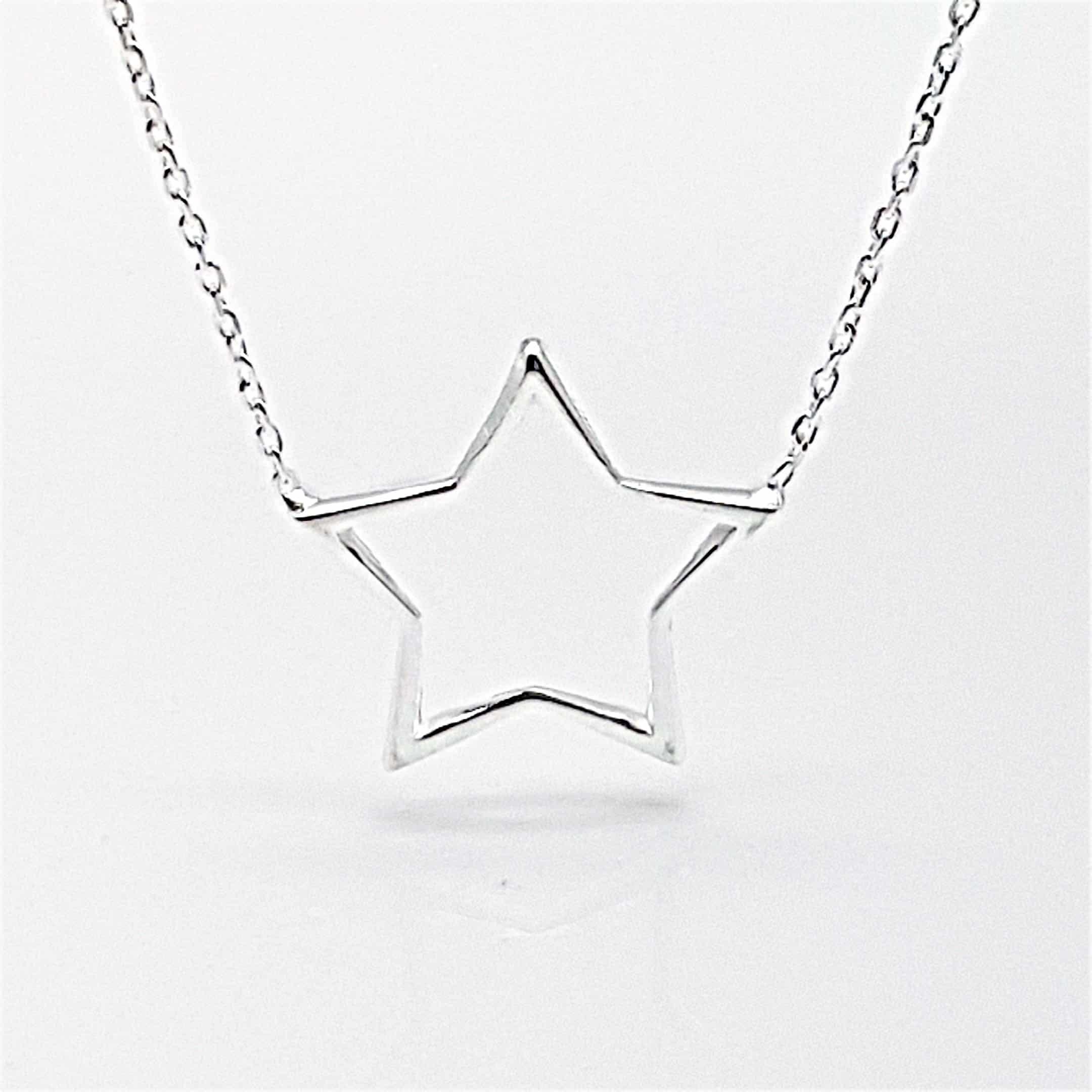 Gargantilla estrella de plata (2)