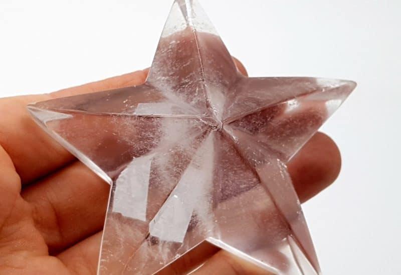 Estrella de Cuarzo Cristal de Roca