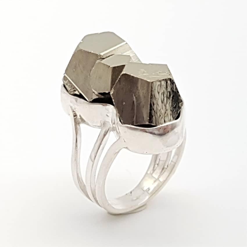anillo pirita 3, cristales dodecaedros (1)