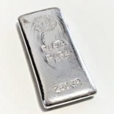 lingote de plata pura 999