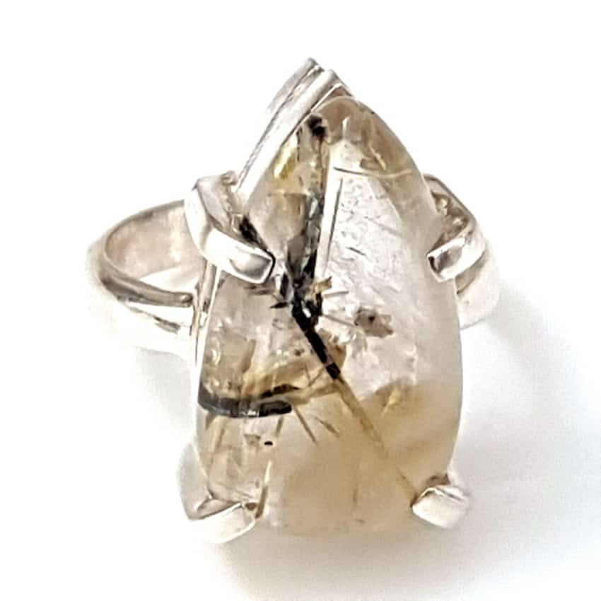 Anillo cuarzo rutilado plata (4)