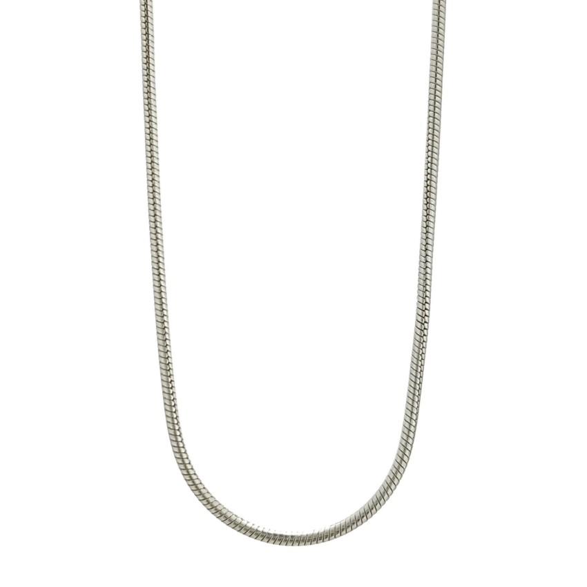 Cadena de plata modelo topo de 1,3 mm. de ancho (2)