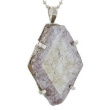 Colgante de cristal natural de lepidolita (11)