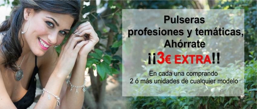 ¡¡Ahórrate 3 € EXTRAS!! Consigue tu pulsera por 51,50€ comprando 2 pulseras o más y usando el cupón AHORRA3 en tu carrito de compra.