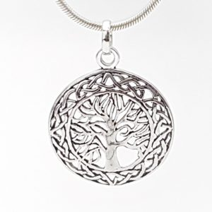 Colgante árbol de la vida diseño celta