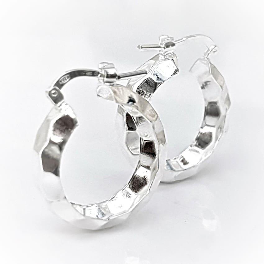 argollas facetadas de plata (3)