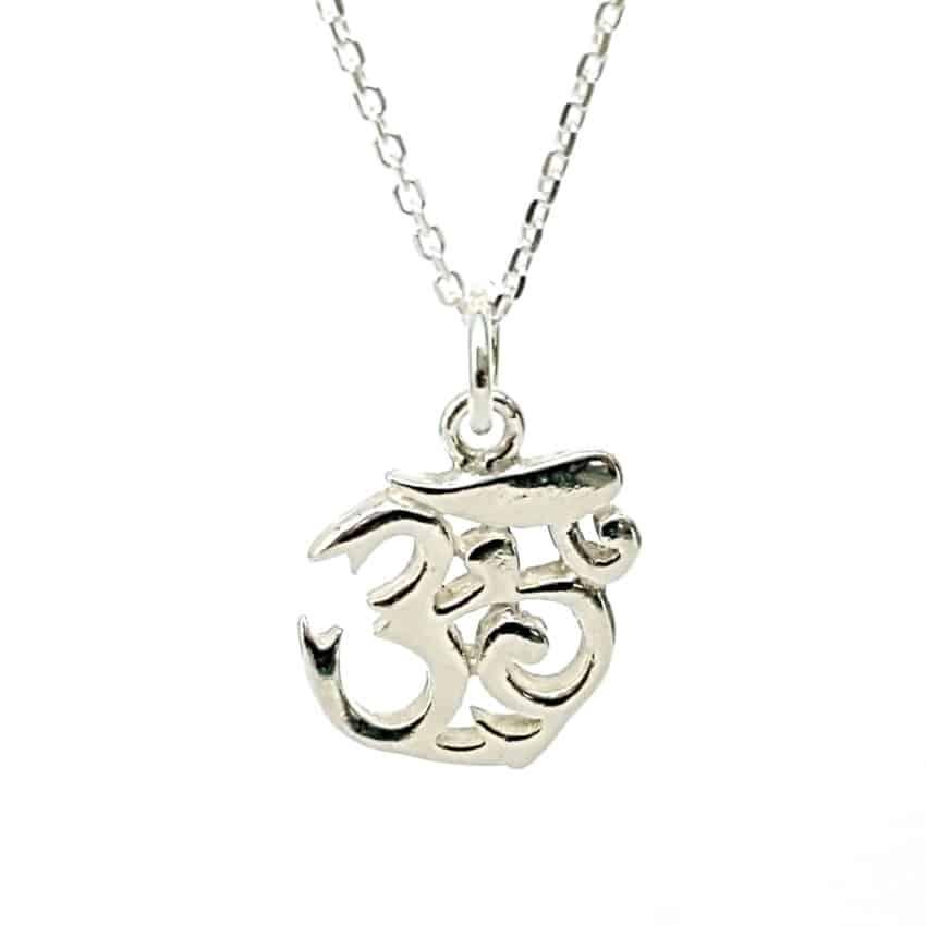 colgante gartantilla símbolo de Ohm (3)