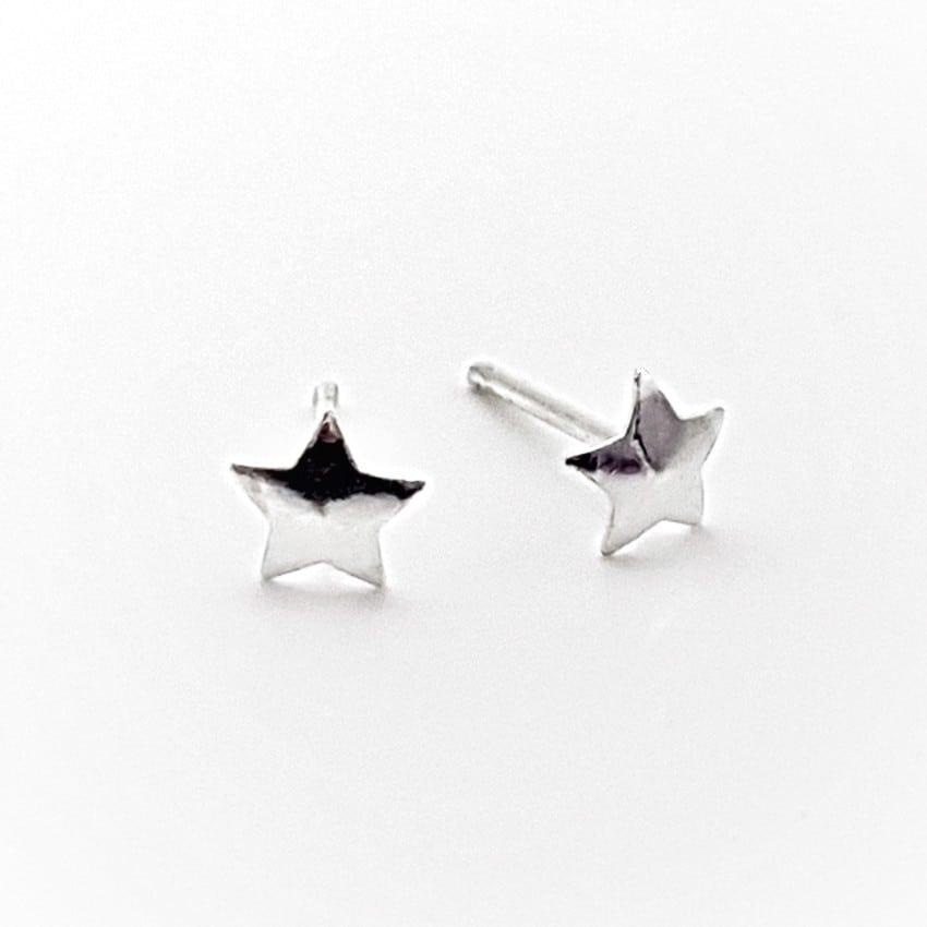 pendientes mini estrellas de plata (5)