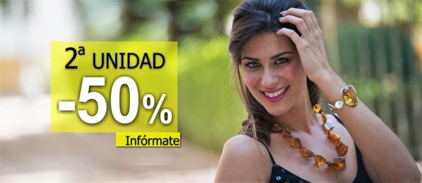 Hasta el 20 de JULIO, 50% SEGUNDA UNIDAD