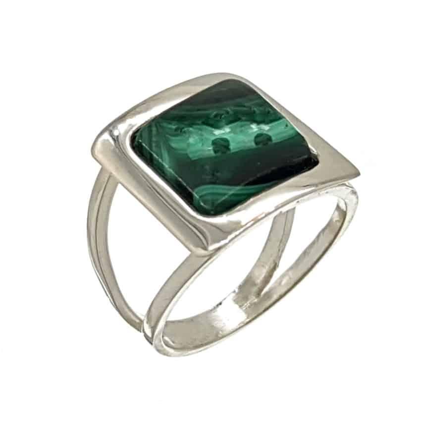 anillo malaquita plata (1)