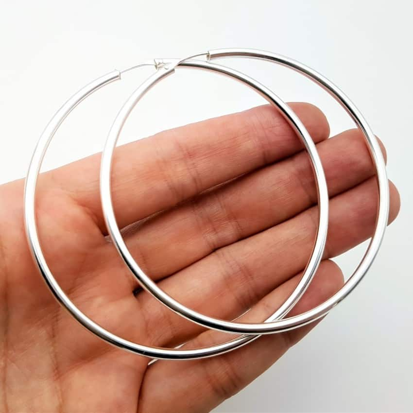 Argollas plata extra grandes (3)