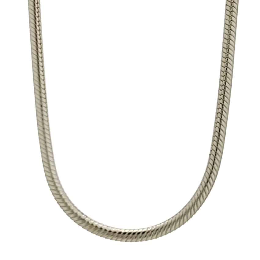Cadena topo 2 mm. grosor en plata 925 (1)