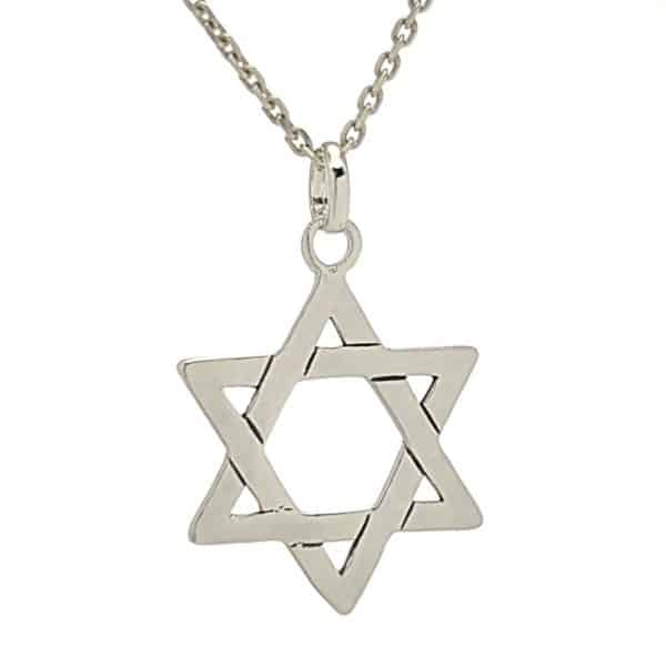 Colgante sello de Salomón, Estrella de David (2)