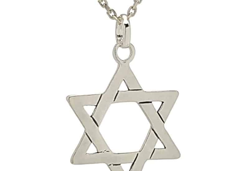 Colgante Estrella de David en Plata – Sello de Salomón