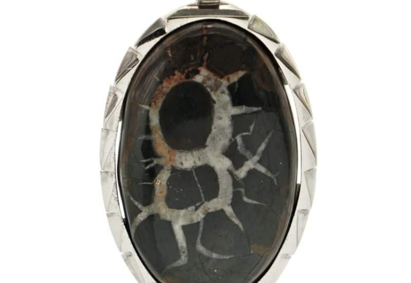 Colgante Septaria en plata