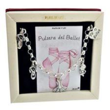Pulsera del ballet en plata 925 (2)