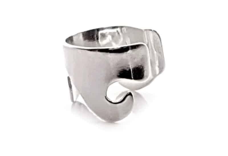 Pendientes clips en plata