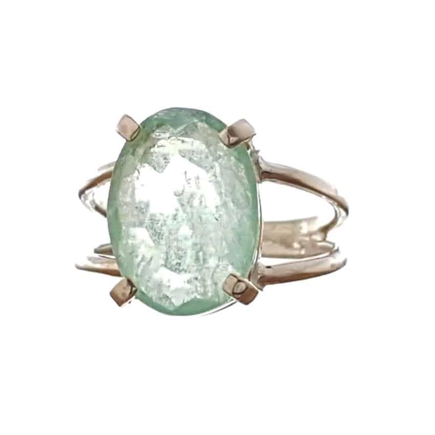 8.Anillo fluorita verde realizado en plata (2)