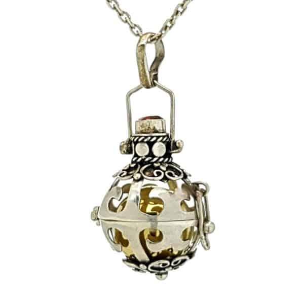Llamador de ángeles en plata 925 (7)