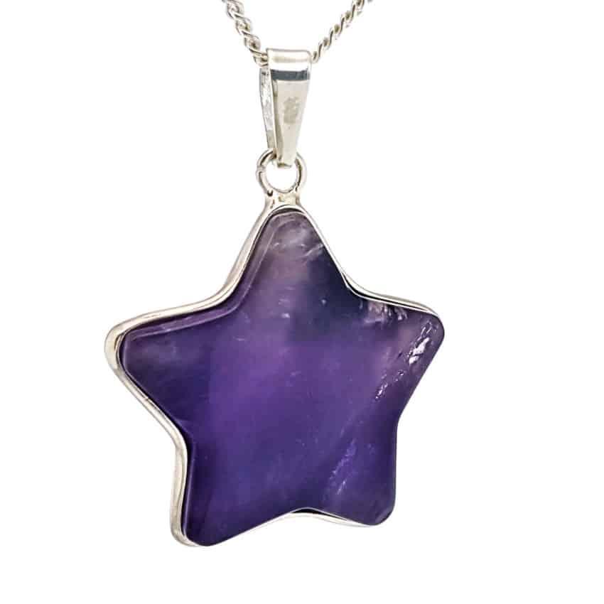 colgante estrella de cuarzo amatista en plata 925 (4)