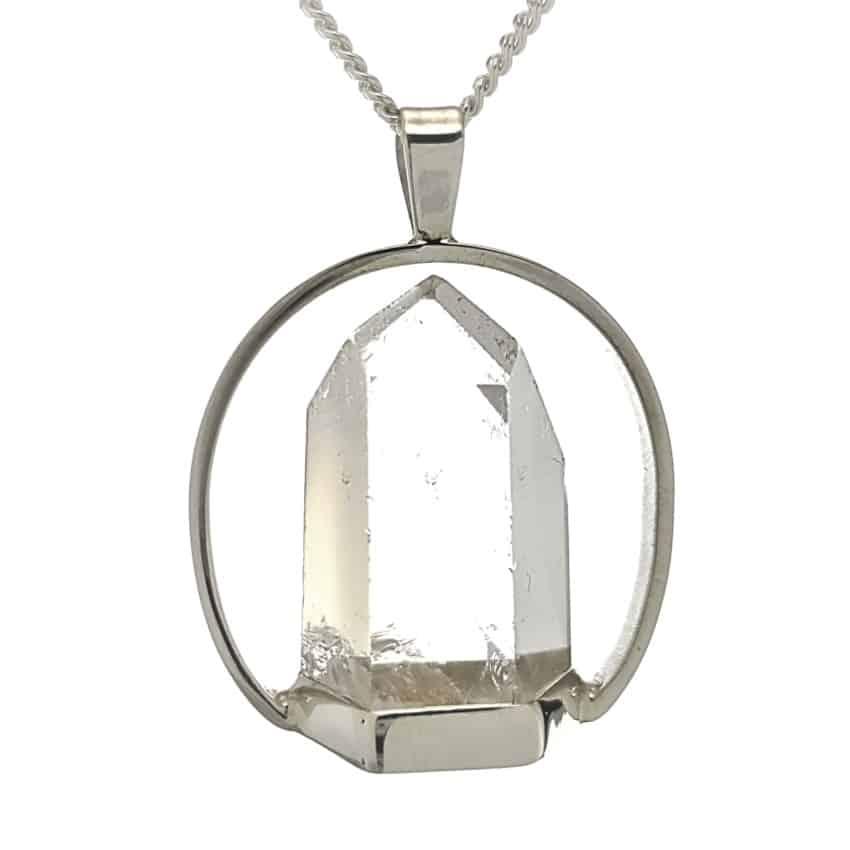 colgante punta cuarzo transparente diseño en columpio (4)