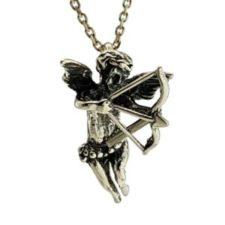Colgante Cupido, ángel del amor con arco y flechas (2)