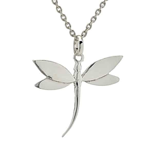 Colgante libélula en plata 925 (1)