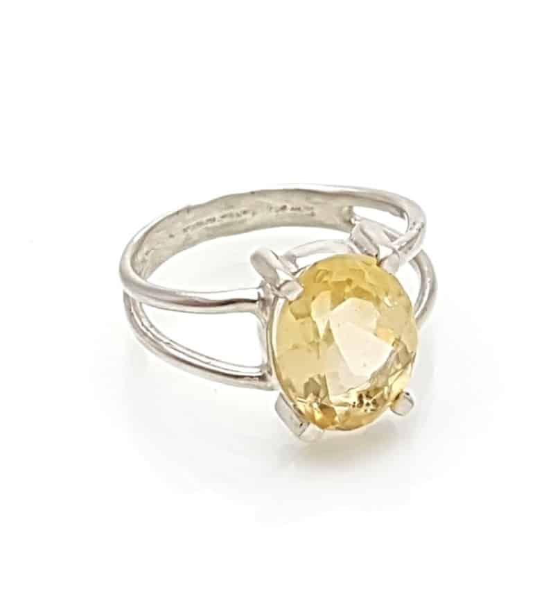 anillo cuarzo citrino facetado en plata 925 (1)