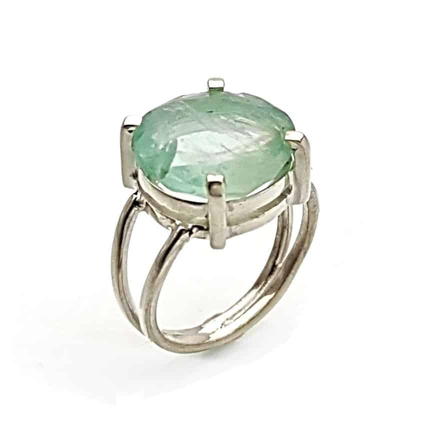 anillo de piedra fluorita en talla redonda en plata 925 (1)